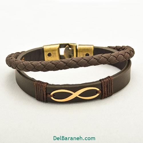 دستبند چرم دست ساز (۵)