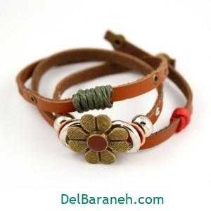 دستبند چرم دست ساز (۹)