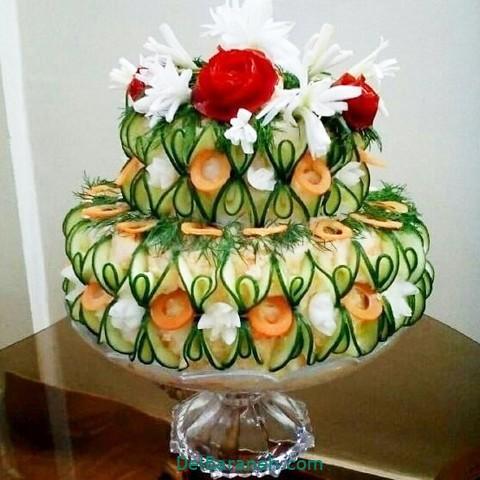 تزیین سالاد الویه مهمانی (۱)