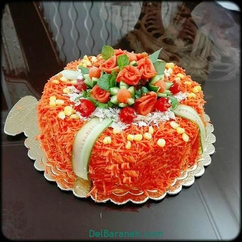 تزیین سالاد الویه مهمانی (۲)