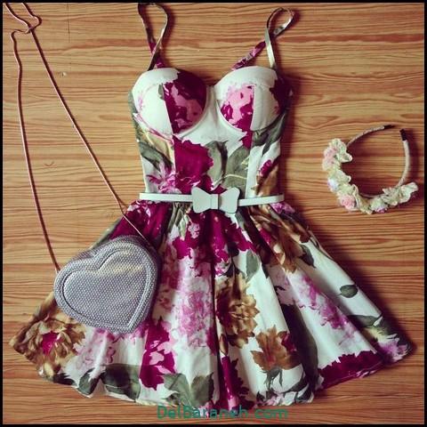 لباس مجلسی کوتاه (۱۰۴)