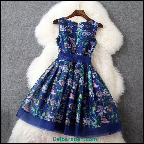 لباس مجلسی کوتاه (۱۲۴)