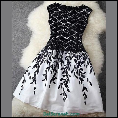 لباس مجلسی کوتاه (۱۳۰)