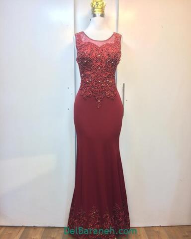 مدلهای لباس مجلسی قرمز بلند