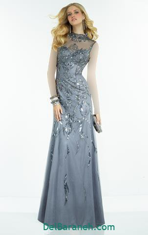 مدل لباس مجلسی بلند (۱۱۴)