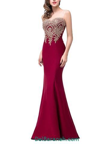 مدل لباس مجلسی بلند (۱۲۸)