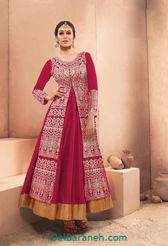 مدل لباس مجلسی بلند زنانه هندی