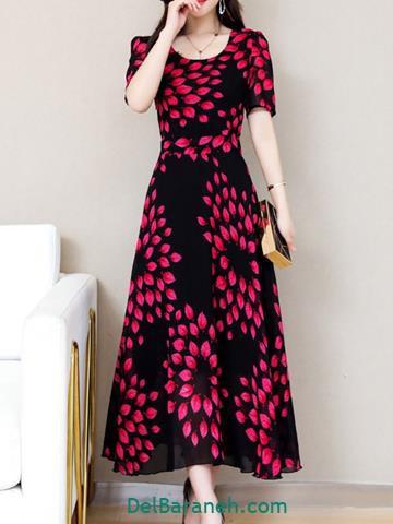 مدل لباس مجلسی بلند ایرانی