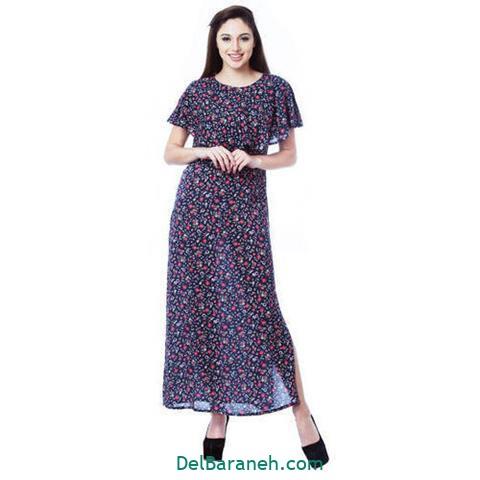 مدل لباس مجلسی بلند زنانه ساده