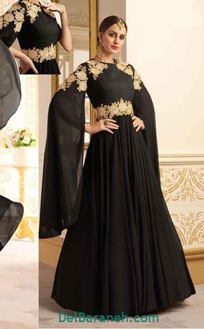 مدل لباس مجلسی بلند بالاتنه گیپور