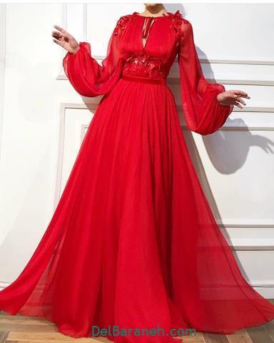 لباس مجلسی اسلامی بلند