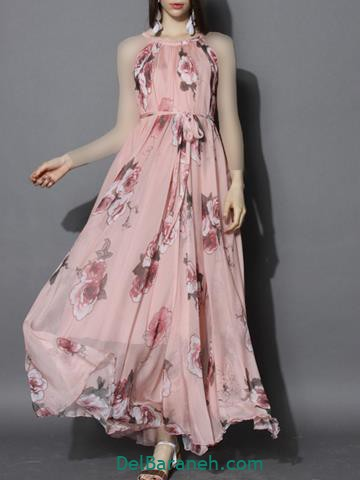 لباس مجلسی بلند دخترانه شیک