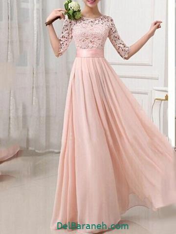 لباس مجلسی بلند جدید اینستاگرام