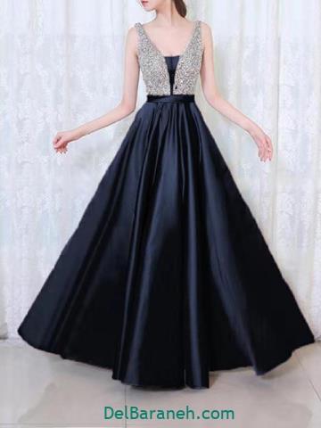 مدل لباس مجلسی خوشگل بلند