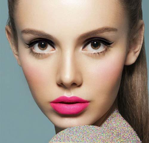 خوشگل ترین مدلهای آرایش دختران زیبا - عکس آرایش صورت