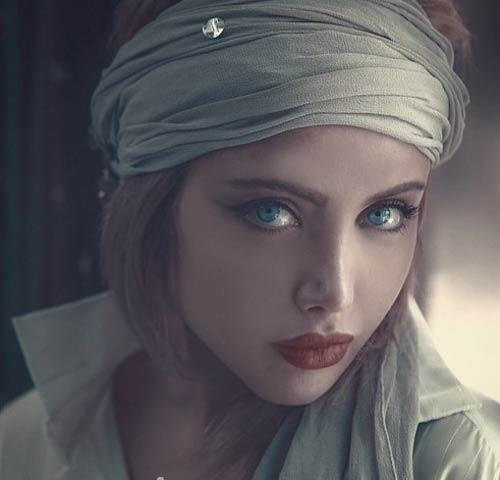 مدل آرایش صورت خوشگلترین دخترهای مدل ایرانی