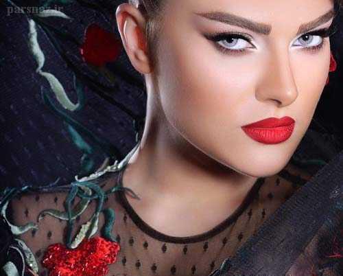 عکس آرایش صورت - خوشگل ترین مدلهای آرایش دختران زیبا