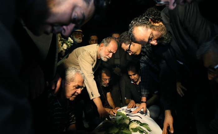 درگذشت عباس کیا رستمی
