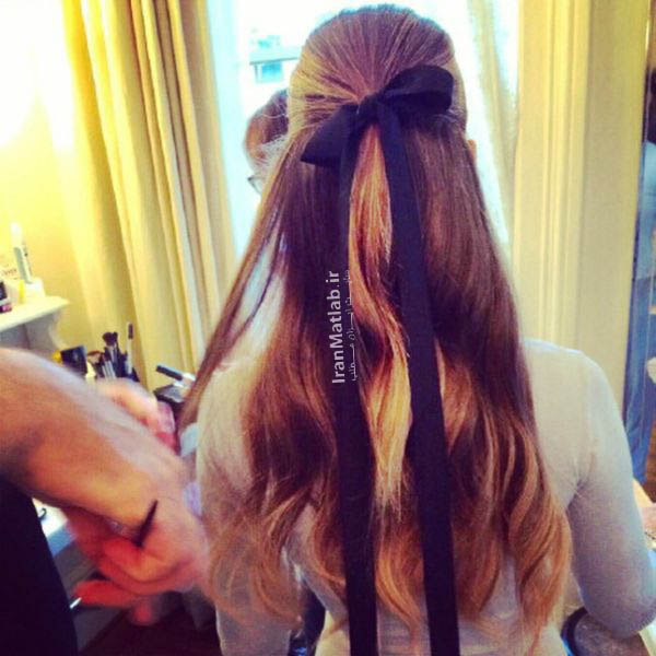 مدل مو در اینستاگرام , مدل مو