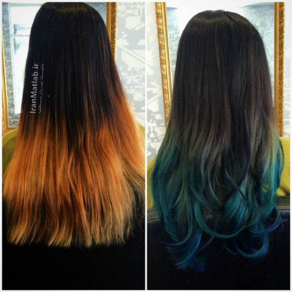 مدل مو در اینستاگرام