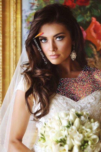 بهترین مدل مو عروس،مدل مو عروس 2016 - مدل موی عروس