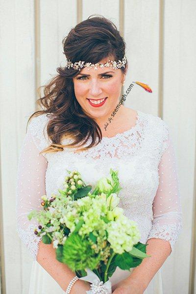 بهترین مدل مو عروس،مدل مو عروس-مدل موی عروس