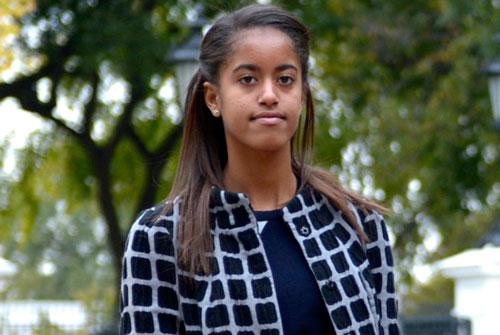 جنجال دختر اوباما