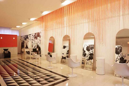 مجموعه ۱۰ مدل دکوراسیون آرایشگاه زنانه
