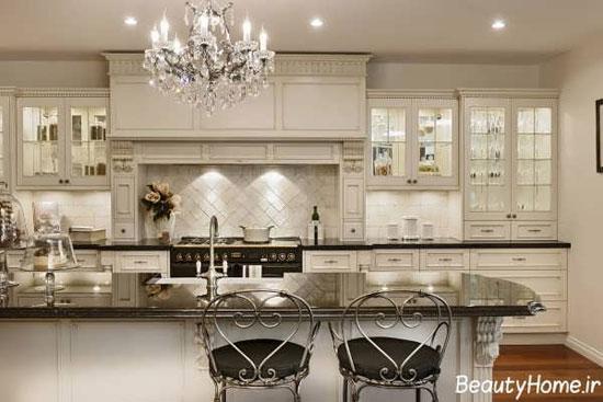 مدل لوستر آشپزخانه با جدیدترین طرح های لوکس و شیک