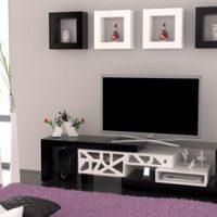 مدل انواع میز تلویزیون ام دی اف شیک ۲۰۱۷