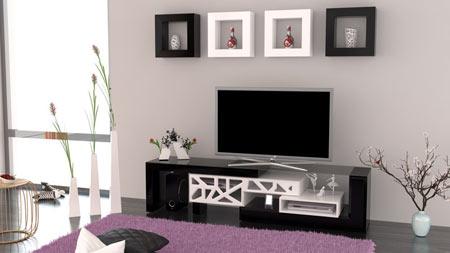 میز تلویزیون ام دی اف,میز ال سی دی جدید,انواع میز تلویزیون