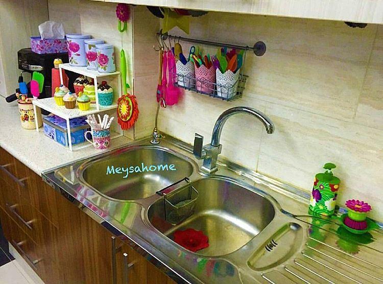 چیدمان آشپزخانه عروس 2016 + دکوراسیون آشپزخانه