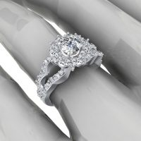 حلقه نامزدی یا انگشتر نشان | ۳۰ مدل حلقه نامزدی سفارشی و قشنگ سال ۲۰۱۶