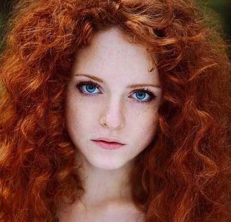 رنگ موی دارچینی,مدل رنگ مو دارچینی (1)