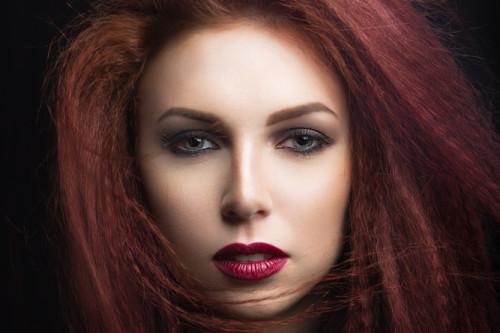 رنگ موی دارچینی,مدل رنگ مو دارچینی (10)