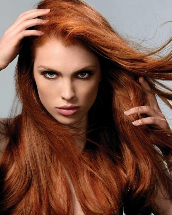 رنگ موی دارچینی,مدل رنگ مو دارچینی (11)