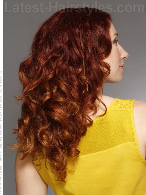رنگ موی دارچینی,مدل رنگ مو دارچینی (6)