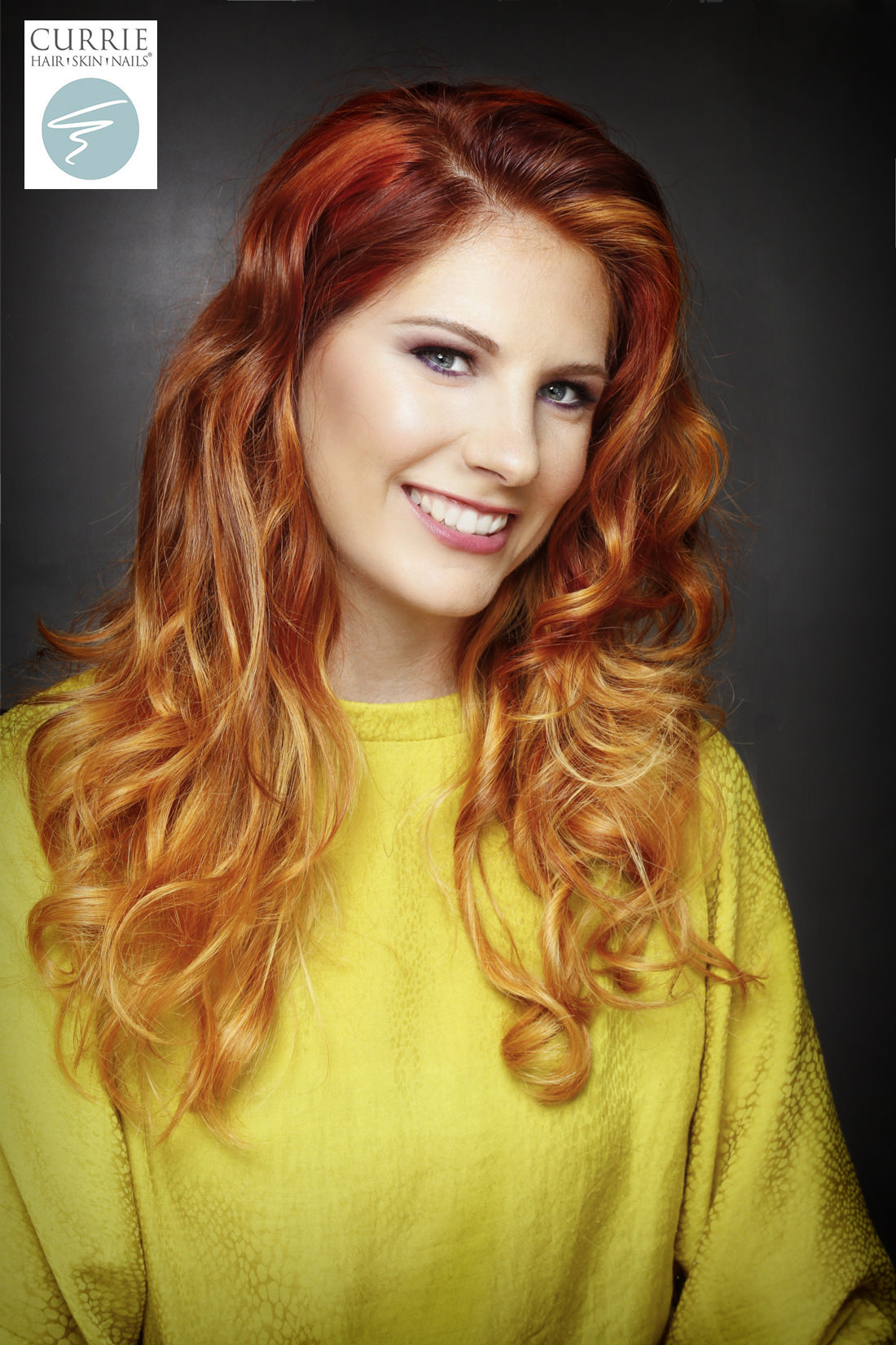 رنگ موی دارچینی,مدل رنگ مو دارچینی (9)