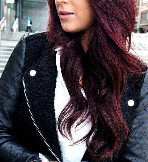 رنگ موی شرابی (2)