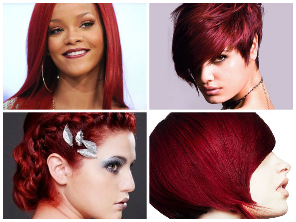 رنگ موی شرابی (4)