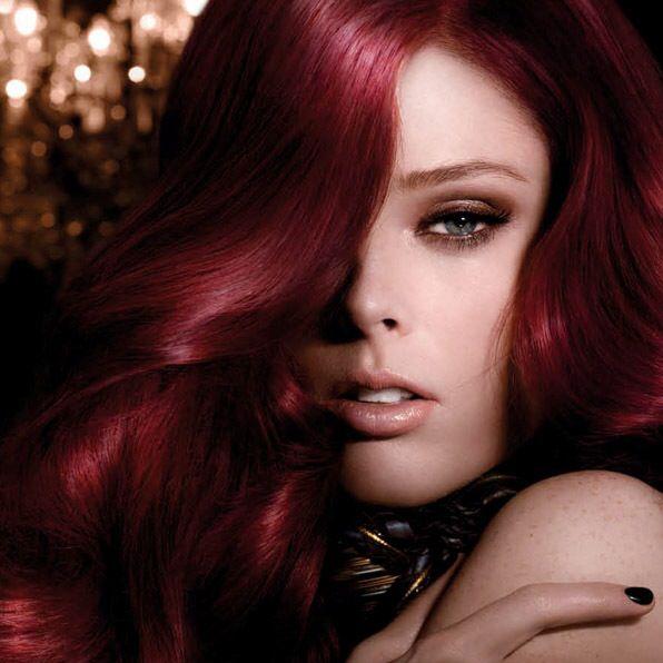 رنگ موی شرابی (6)