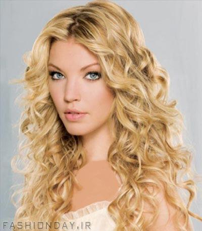 رنگ موی طلایی,رنگ موی گلد (9)