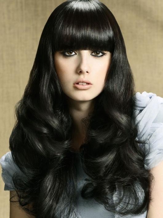 رنگ موی مشکی,رنگ موی پرکلاغی (1)