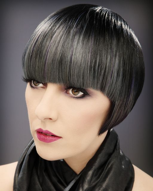 رنگ موی مشکی,رنگ موی پرکلاغی (4)