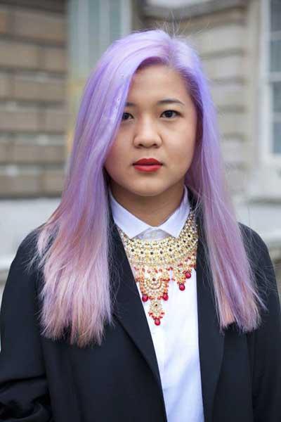 عکس های زیباترین مدل رنگ موی فانتزی تابستان 2016