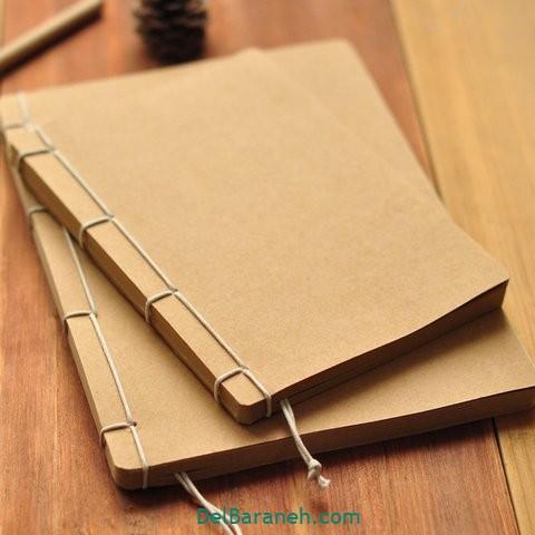 آموزش ساخت دفترچه یادداشت زیبا ۳۵ دفترچه یادداشت دست ساز دلبرانه