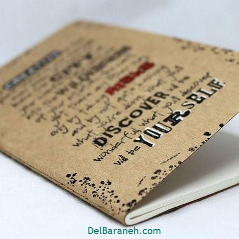 آموزش ساخت دفترچه یادداشت زیبا ۳۵ دفترچه یادداشت دست ساز لونوشاپ