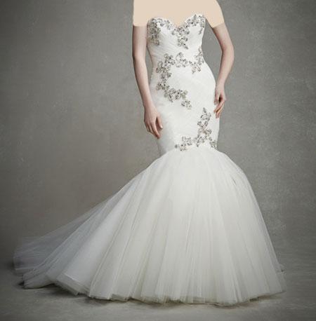 لباس عروس دانتل ,لباس عروس پوف دار (12)