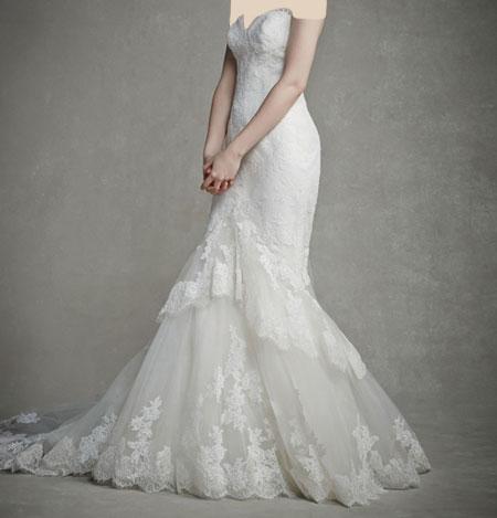 لباس عروس دانتل ,لباس عروس پوف دار (14)