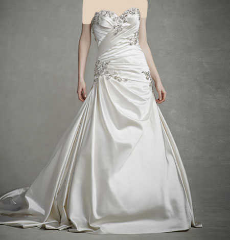 لباس عروس دانتل ,لباس عروس پوف دار (7)
